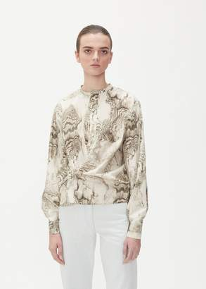 Lemaire Marbled Twisted Shirt