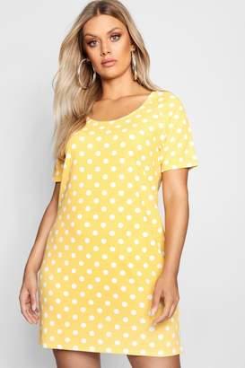 562a84c78c43 boohoo Yellow Shift Day Dresses - ShopStyle UK