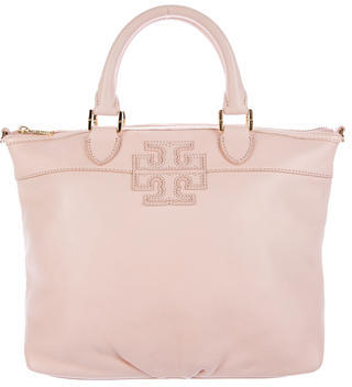 Tory Burch Tory Burch Pebbled Leather Handle Bag