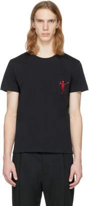 Alexander McQueen Black Dancing Skeleton T-Shirt