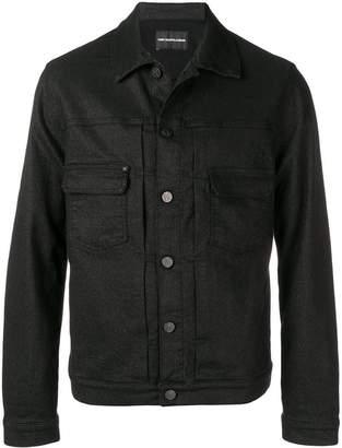 Karl Lagerfeld Paris casual trucker jacket