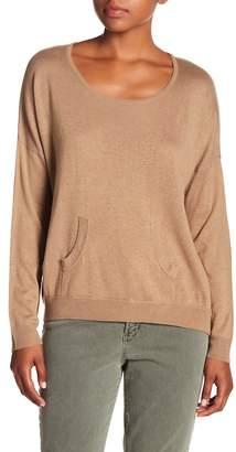 Chaser Silk Blend Pocket Sweater