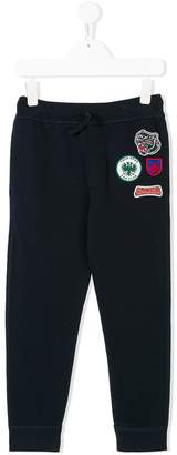 DSQUARED2 embroidered patch sweatpants