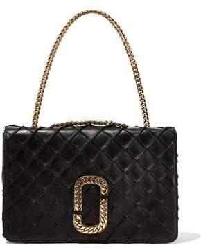 Marc Jacobs Embellished Quilted Leather Shoulder Bag