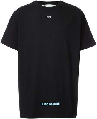 Off-White Temperature T-shirt