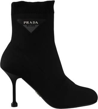 Prada Sock Ankle Boots