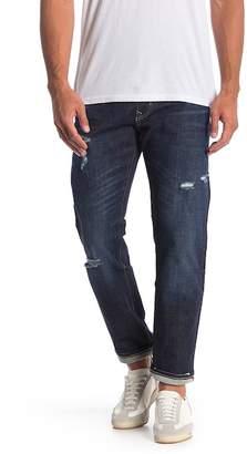 Vigoss Lennon Zip 341 Straight Leg Jeans - Size 33