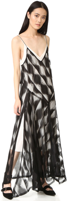 DKNY Sleeveless Slip Dress $598 thestylecure.com