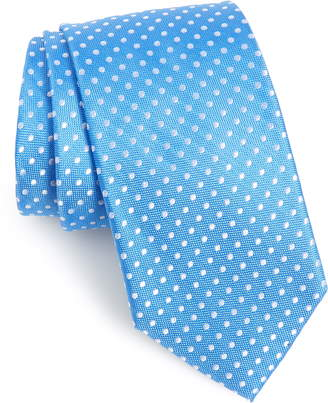 Nordstrom Norton Dot Silk X-Long Tie
