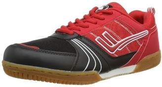 Killtec Unisex Adults' Soccero Indoor Shoes, Red - Rot (rot/schwarz/00400), EU