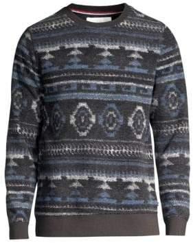 Sol Angeles Aztec Fleece Pullover Sweater