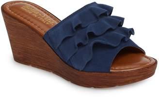 Bella Vita Bey Platform Wedge Sandal