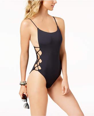 7e0167d9f082c ... Roxy Juniors' Softly Love Cutout Cheeky One-Piece Swimsuit Women  Swimsuit