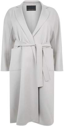 Marina Rinaldi Cashmere Belted Coat
