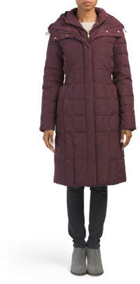 Knee Length Down Jacket