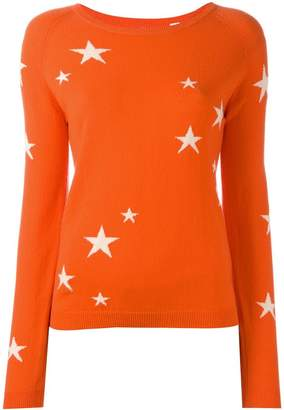 Parker Chinti & cashmere star jumper