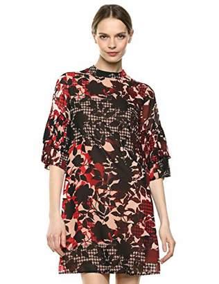 Sharagano Women's Chiffon Dress