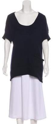 Chloé Wool Short Sleeve Sweater