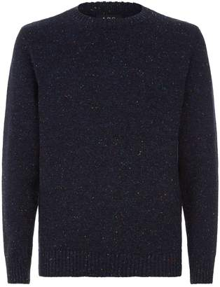 A.P.C. Rory Speckled Yarn Wool Sweater