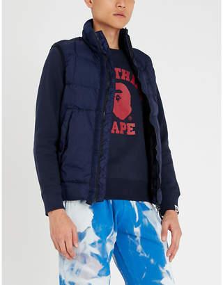 A Bathing Ape College cotton-blend sweatshirt