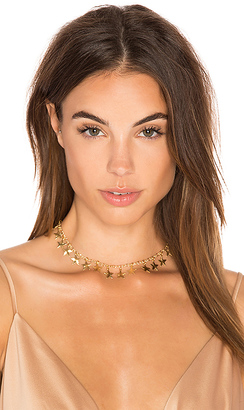 Frasier Sterling A Star Is Born Choker in Metallic Gold. $35 thestylecure.com