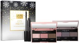 Laura Geller City Pretty Eye Shadow & Mascara 3-Piece Kit
