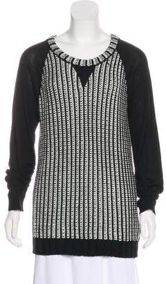 Rachel Zoe Wool-Blend Knit Sweater w/ Tags