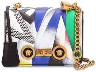 Versace Clash Leather Shoulder Bag