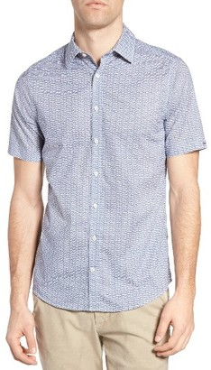 Men's Gant Town Fit G Print Sport Shirt $125 thestylecure.com