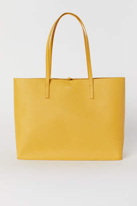 H&M Reversible Shopper - Yellow