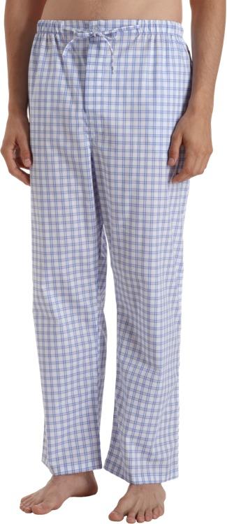 Barneys New York Double Stripe Check Pajama Pant
