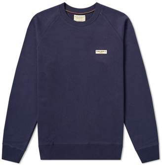 Nudie Jeans Samuel Logo Crew Sweat