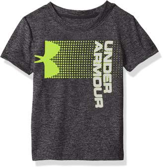 Under Armour Baby Boys New Hybrid Big Logo Short Sleeve T-Shirt