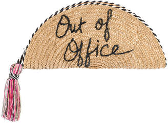 Out Of Office clutch bag