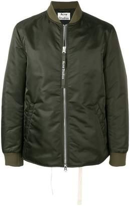 Acne Studios zipped bomber jacket