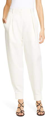 Tibi Pleat Front Techy Twill Pants