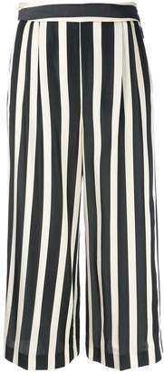 MSGM striped cropped trousers