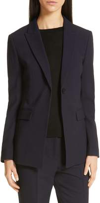 BOSS Jusanna Stretch Wool Suit Jacket