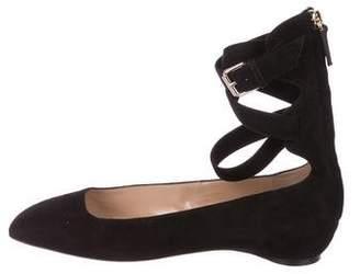 Ankle Strap Flats Shoes - ShopStyle Australia f5800bb86a17