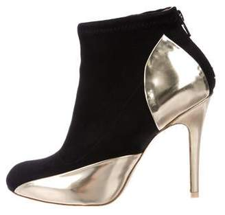 Maison Margiela Suede Ankle Booties