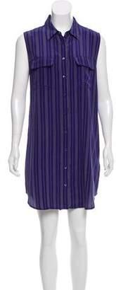 Equipment Silk Sleeveless Dress w/ Tags