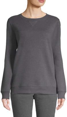 ST. JOHN'S BAY SJB ACTIVE Active Fleece Sweatshirt