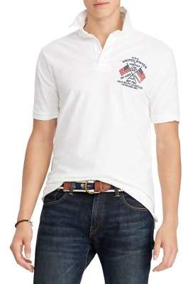 Polo Ralph Lauren Classic-Fit Mesh Rugby Shirt