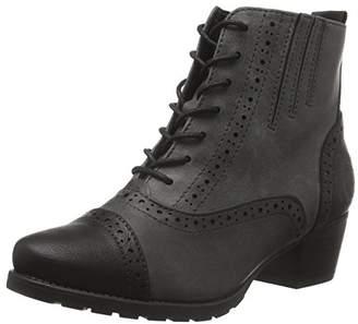 Marco Tozzi Women's 25123 Combat Boots, (Grey Antic COM 202)