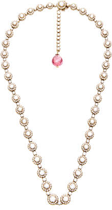 Munnu The Gem Palace Indo-Russian 14K Gold Diamond and Spinel Necklace