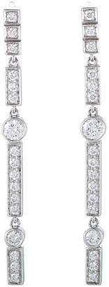 Chanel Heritage  18K White Gold 1.10 Ct. Tw. Diamond Earrings