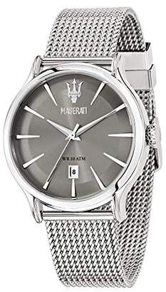Epoca MASERATI Men's 'Epoca' Quartz Stainless Fashion Watch