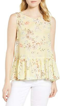 Velvet by Graham & Spencer Print Gauze Tank