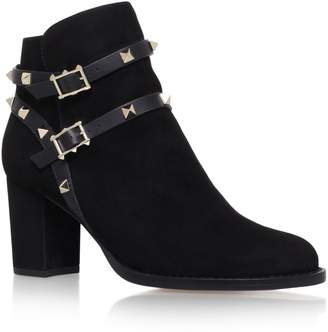 Valentino Suede Rockstud Ankle Boots 70