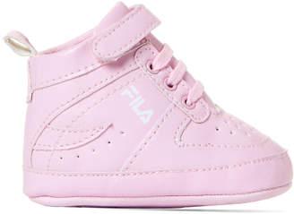 Fila Infant Girls) Blush High-Top Sneakers